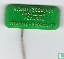 A. Smit & Zoon N.V. Amsterdam Vevadol vitamine-produkten