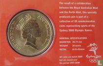 "Australia 5 dollars 2000 (coincard) ""Summer Olympics in Sydney - Triathlon"""