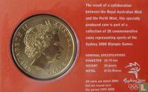"""Australia 5 dollars 2000 (coincard) """"Summer Olympics in Sydney - Judo"""""""