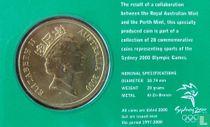 """Australia 5 dollars 2000 (coincard) """"Summer Olympics in Sydney - Archery"""""""