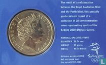 "Australia 5 dollars 2000 (coincard) ""Summer Olympics in Sydney - Volleyball"""