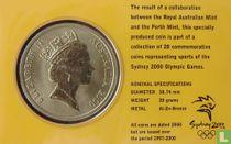 "Australia 5 dollars 2000 (coincard) ""Summer Olympics in Sydney - Gymnastics"""