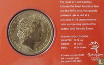 "Australia 5 dollars 2000 (coincard) ""Summer Olympics in Sydney - Equestrian"""