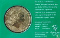 "Australië 5 dollars 2000 (coincard) ""Summer Olympics in Sydney - Rowing"""