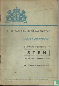 Ontwerp-voorschrift Sten (mitrailleurkarabijn 9 mm)