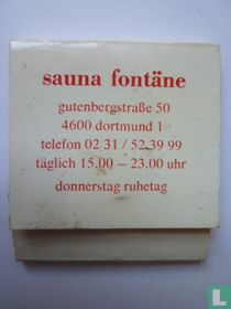 Sauna Fontäne