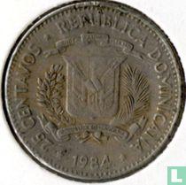 """Dominicaanse Republiek 25 centavos 1984 """"Mirabal sisters"""""""