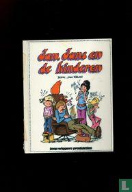 Jan Kruis: inkleuring cover Jan Jans en de kinderen deel 1 uit 1972