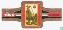 Kaartspel met Duitse kleuren ± 1800