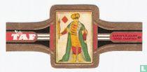 Kaartspel met Franse kleuren ± 1800