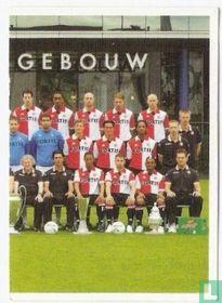Feyenoord groepsfoto rechts