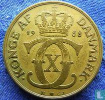 Denemarken 2 kroner 1938
