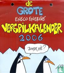 De grote verspilkalender 2006