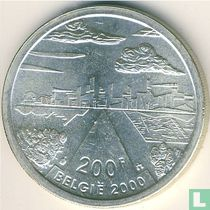 "België 200 francs 2000 ""The city"""