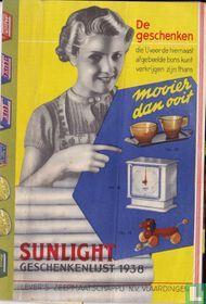 Sunlight Geschenkenlijst 1938