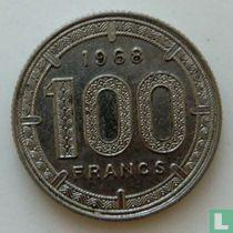 Kameroen 100 francs 1968