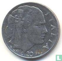 Italien 20 Centesimi 1943