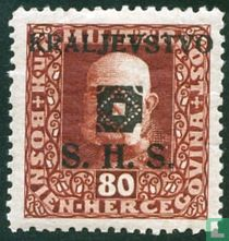 Franz Joseph I, met afdrukken