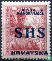 Oorlogshulp postzegels