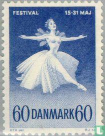 Ballet en muziekfestival Kopenhagen