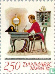 Postzegeltentoonstelling Hafnia