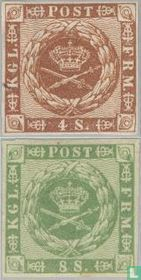 1858 Horn with lines (DK 4)