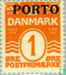Digit ' wave ' PORTO ' type ' with imprint