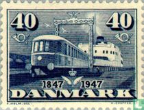 100 years Danish Railways