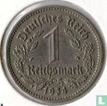 Duitse Rijk 1 reichsmark 1934 (D)