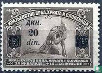 Postzegels van 1921 met Impressum
