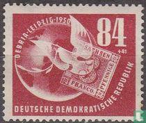 Postzegeltentoonstelling DEBRIA