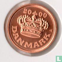 Denemarken 25 øre 2000