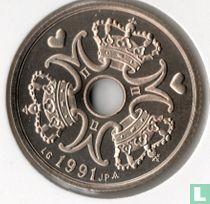Denemarken 5 kroner 1991