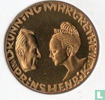 """Denemarken 20 kroner 1992 """"Silver Wedding Anniversary"""""""