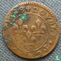 France double tournois 1638 (• •)
