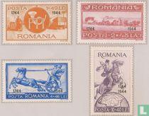 Post- en spoorwegen, met opdruk (I)