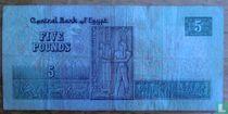 Egypte 5 pounds 1981