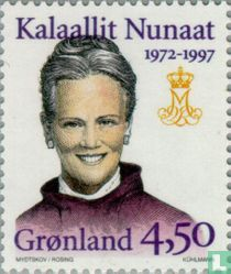 Government Anniversary Queen Margrethe II