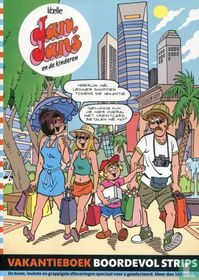 Vakantieboek boordevol strips