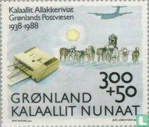 Posterijen Groenland 50 jaar