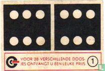 Dominosteen 6-6