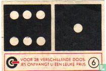 Dominosteen 6-1