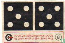 Dominosteen 5-5