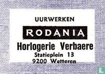 Uurwerken Rodania Verbaere