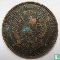 Argentinië 2 centavos 1892