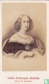 Sophie-Frédérique-Mathilde Reine de Hollande