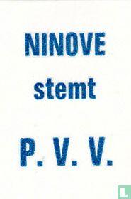 Ninove stemt P.V.V.