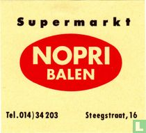 Supermarkt Nopri