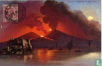 Vesuvio in eruzione
