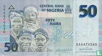Nigeria 50 Naira 2007
